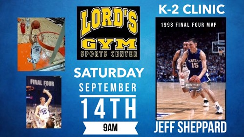 K-2 Basketball Clinic @ Lord's Gym