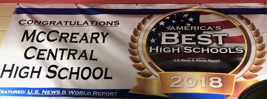 MCHS Best High School Banner 2018