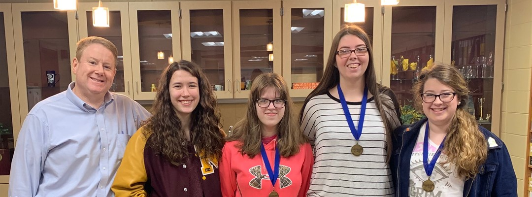 Future Problem Solving Team Wins District!