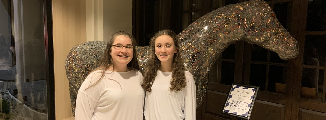 Raiders Macy Daugherty & Raylee Strunk @ KMEA Jr. High All-State Chorus