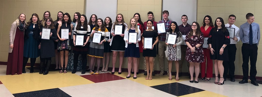 2019 National Honor Society Induction Ceremony