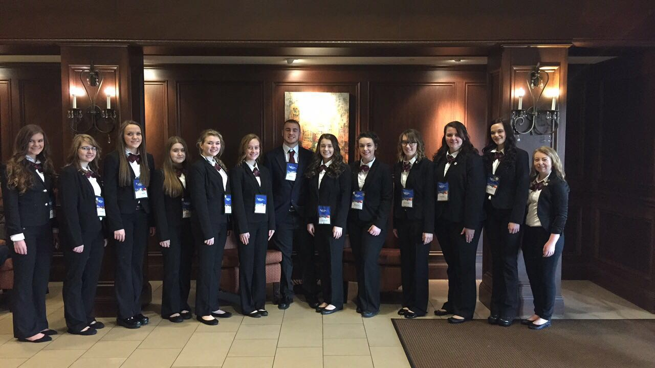 MCHS HOSA Council at State Conference in Louisville, KY