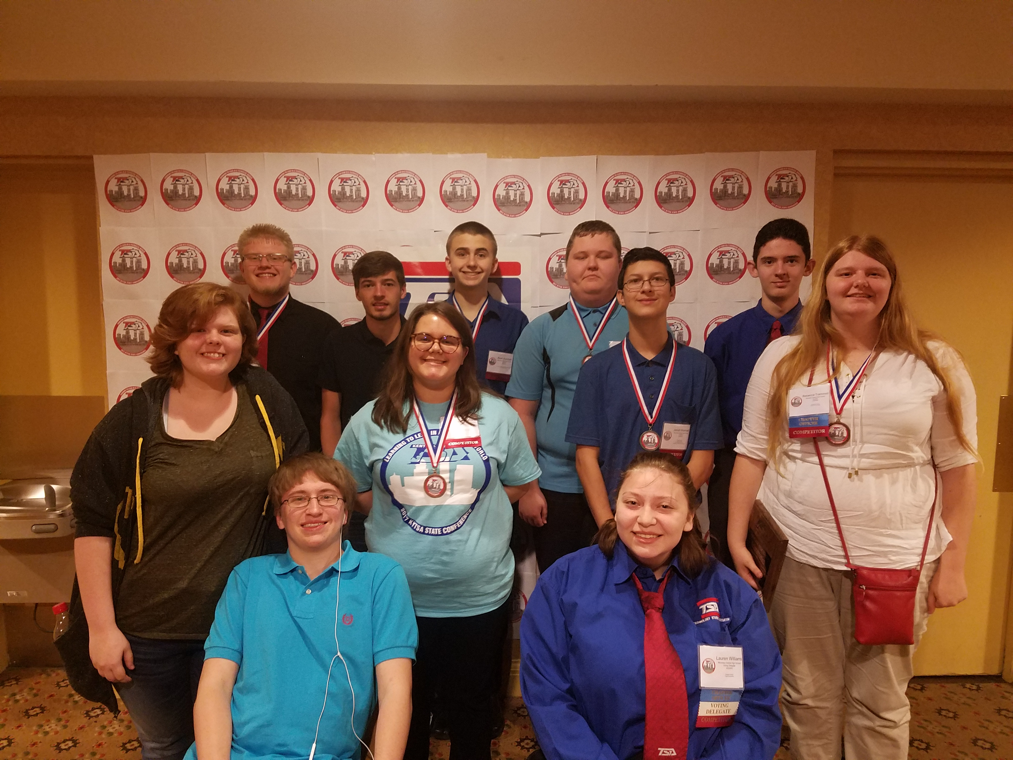 McCreary Central TSA at State Competition, Louisville, KY