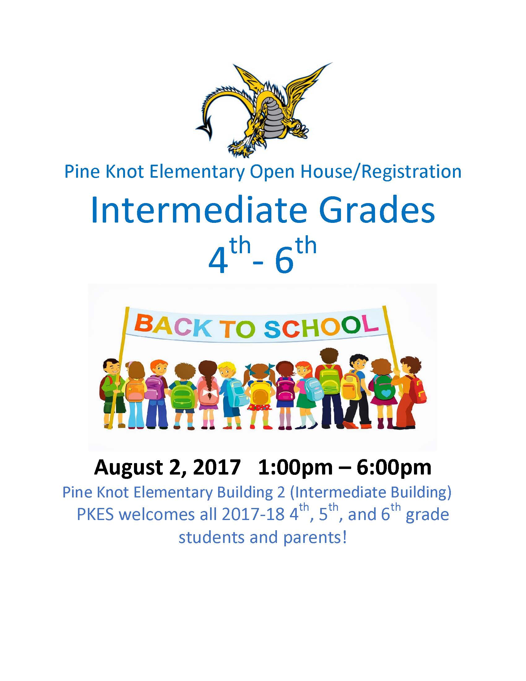 PKE Intermediate Grades Open House