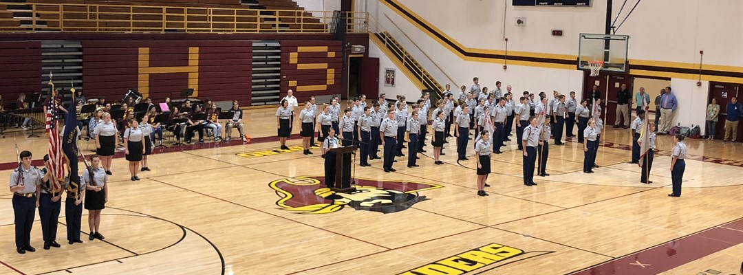 JROTC, Band, Choir Present the Annual 9/11 Patriot Day Ceremony